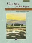 Classics For Solo Singers   Med Low