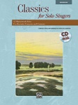 Classics For Solo Singers   Med Hi/CD
