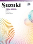 Suzuki Viola School Vol 1 Revised Edition   Va/CD