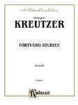 Rodolphe Kreutzer Forty Two Studies   Va