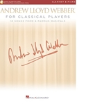 Andrew Lloyd Webber For Classical Players   Cl/Pn/Acc