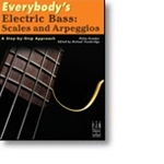 Everybodys Electric Bass Scales And Arpeggios   Gtr/Acc