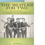 Beatles For Two Easy Instrumental Duets Alto Saxes   ASax-2